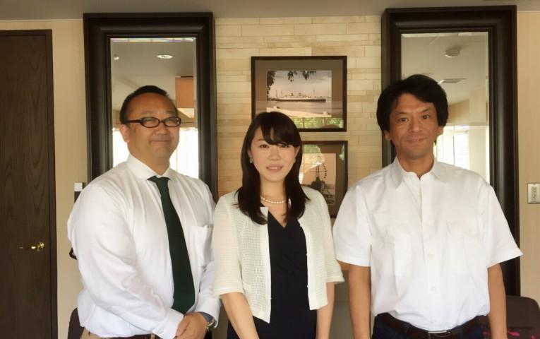 右:佐藤社長、左:倉持社長。